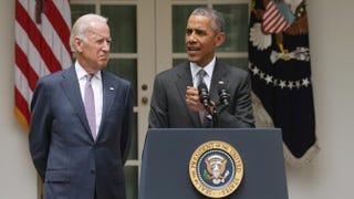 Vice President Joe Biden and President Barack ObamaAlex Wong/Getty Images