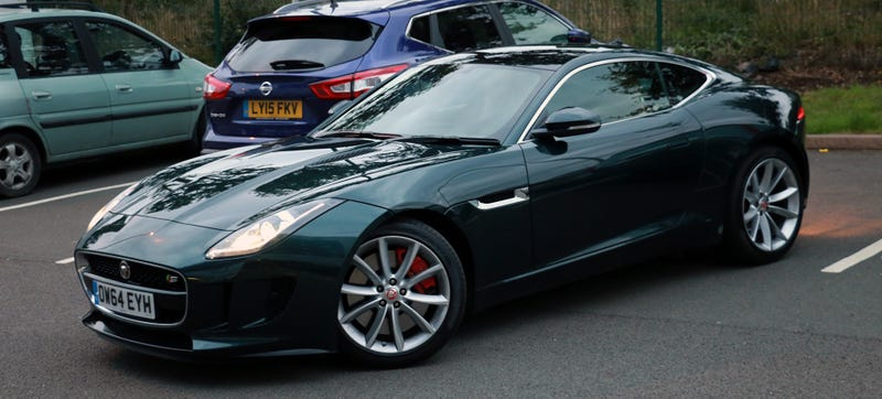 Illustration for article titled Will I Crash This Manual Jaguar F-Type S This Week?