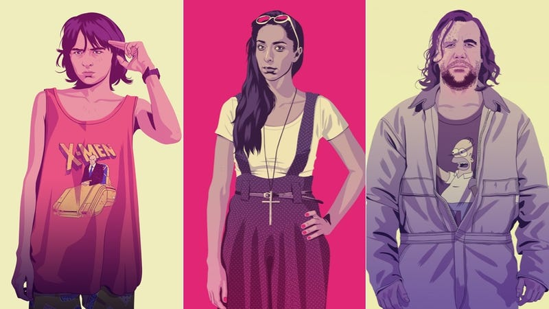Illustration for article titled The Game of Thrones '80s/90s theme party continues in this awesome art