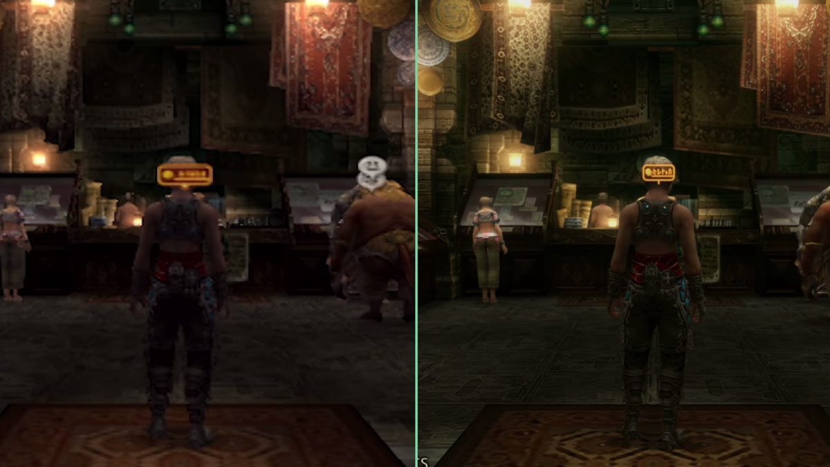 Final Fantasy XII: The Zodiac Age's Remastered Look Comes At A Cost
