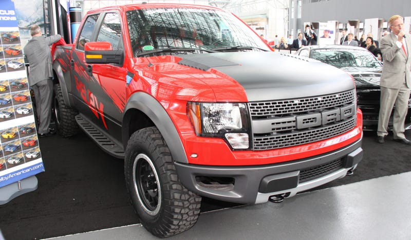 The Shelby Raptor Is A Crazed Power Hungry Beast Of A Truck