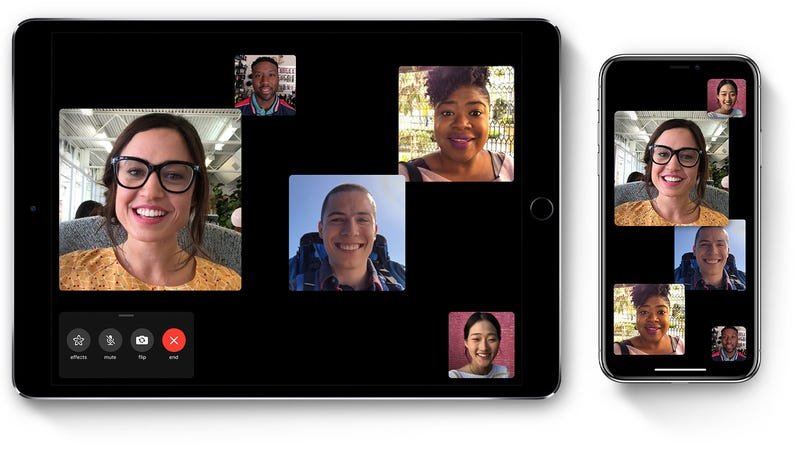 Illustration for article titled Apple Says Its Update forGroup FaceTime Bug Is Getting Bumped to Next Week
