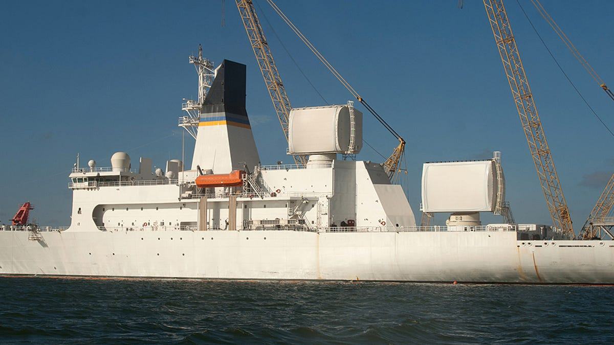 These Are The Wild Radar Ships That Make Missile Defense