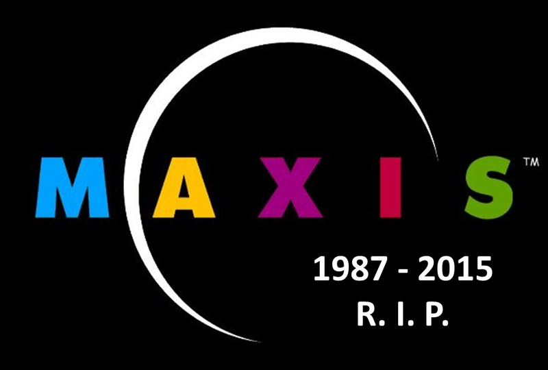 Illustration for article titled R. I. P. MAXIS