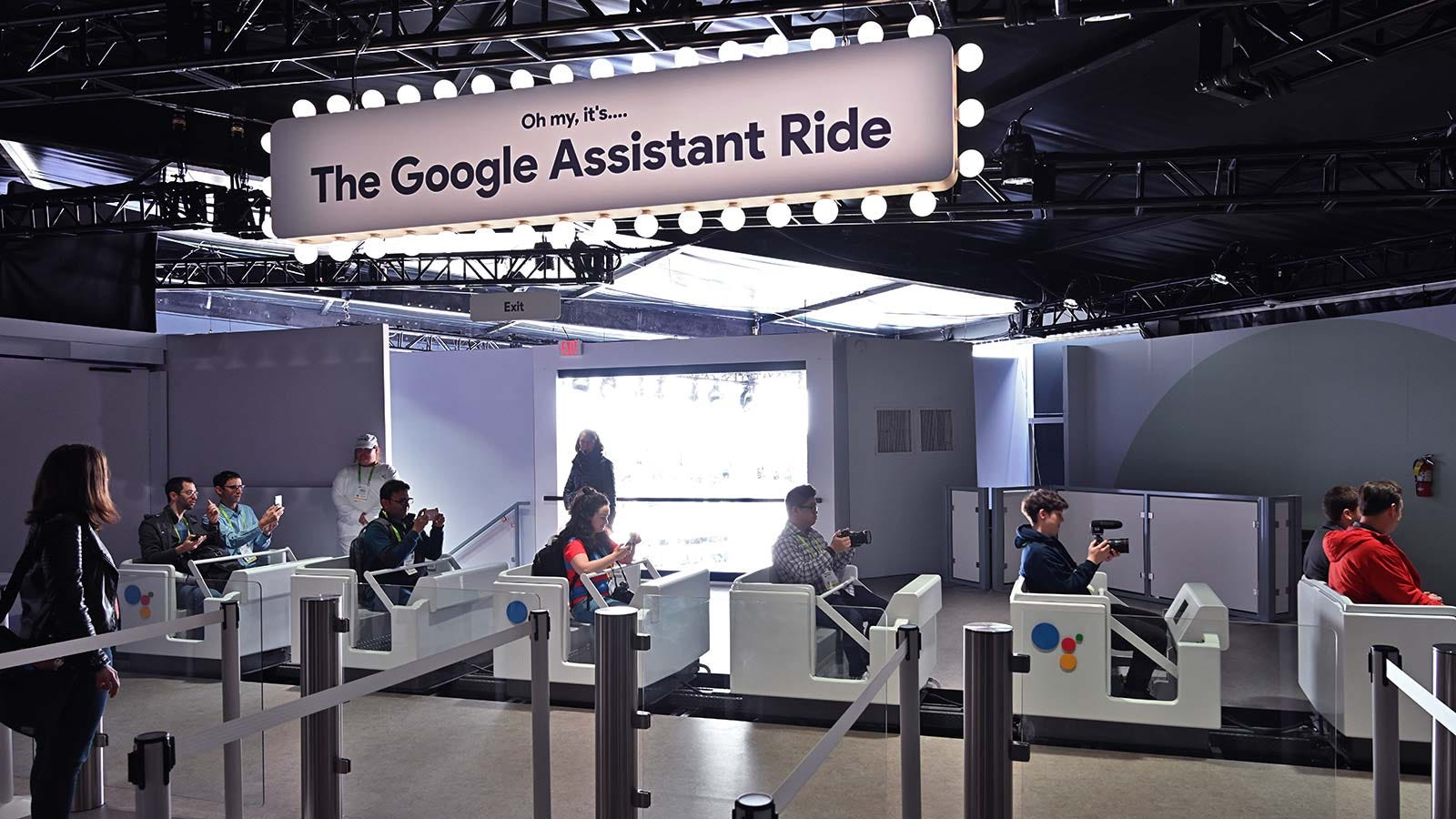 QnA VBage Google Is Blitzing CES With a Literal Rollercoaster of Google Assistant Tech