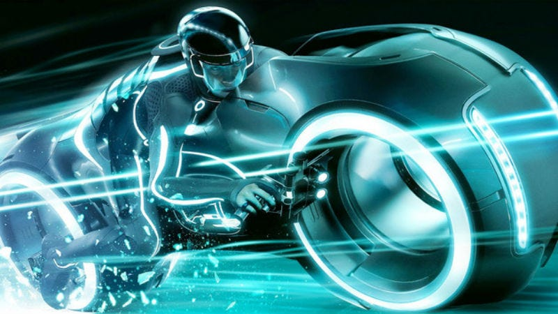 Illustration for article titled Watch a First Person Video of Disney's New Tron Roller Coaster