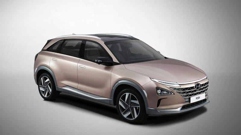 Illustration for article titled Hyundai's Boring Crossover Concept Goes Big On Autonomy And That May Be Fine