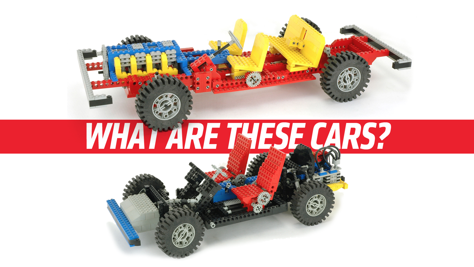 The Mystery Cars Behind The First Two Lego Car Chassis Sets