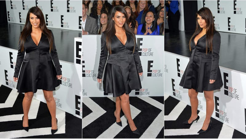 Illustration for article titled Kim Kardashian Steps Out in The Penguin's Tuxedo Jacket