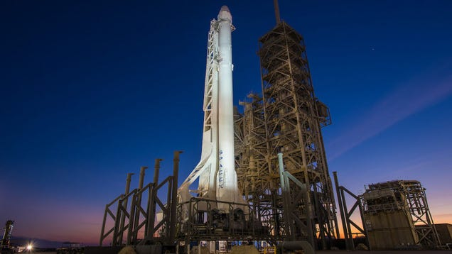 SpaceX Saved Its Fourth of July Rocket For National Hangover Day