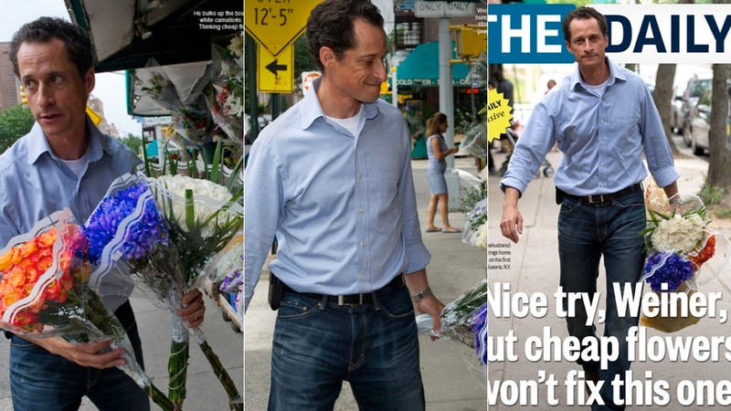 Illustration for article titled Anthony Weiner's Latest Sorry Stunt
