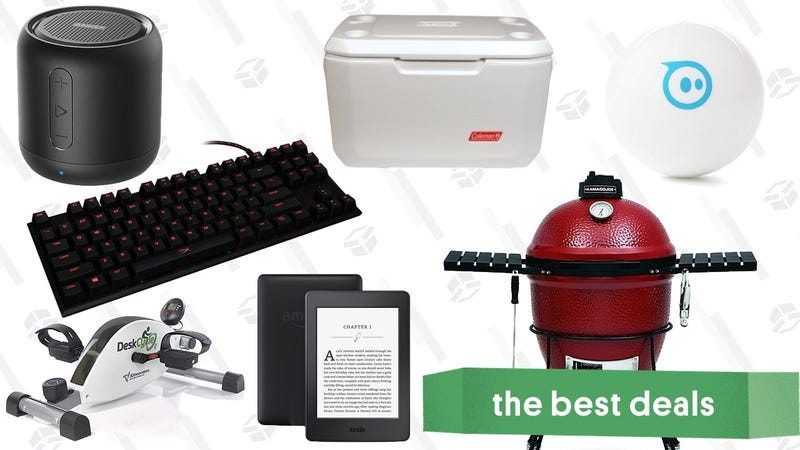 Illustration for article titled Tuesday's Best Deals: Amazon Tech Sale, Discounted Smokers, Wayfair Clearance, and More