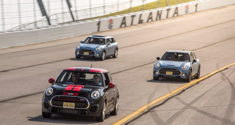 How I Learned To Love NASCAR In A Mini Cooper