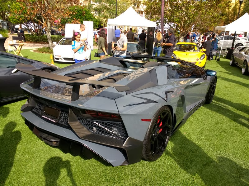 Illustration for article titled OFS: Lamborghini Aventador SV