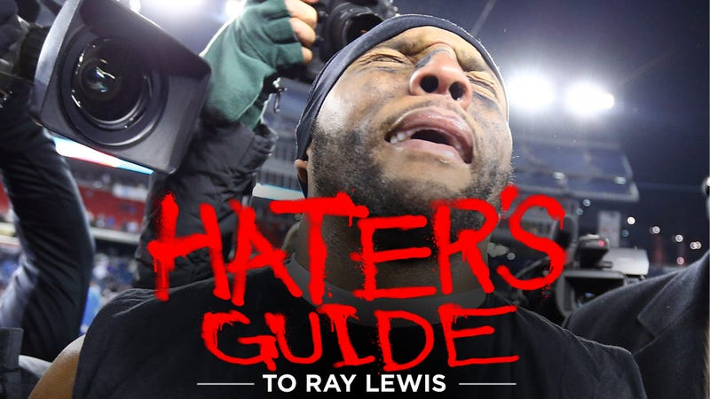 Illustration for article titled The Hater's Guide To Ray Lewis
