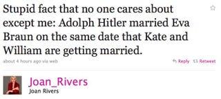 Illustration for article titled Celebs On Twitter Have Royal Wedding Fever