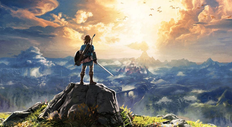 Illustration for article titled Breath Of The Wild Wins Big At 2018 DICE Awards