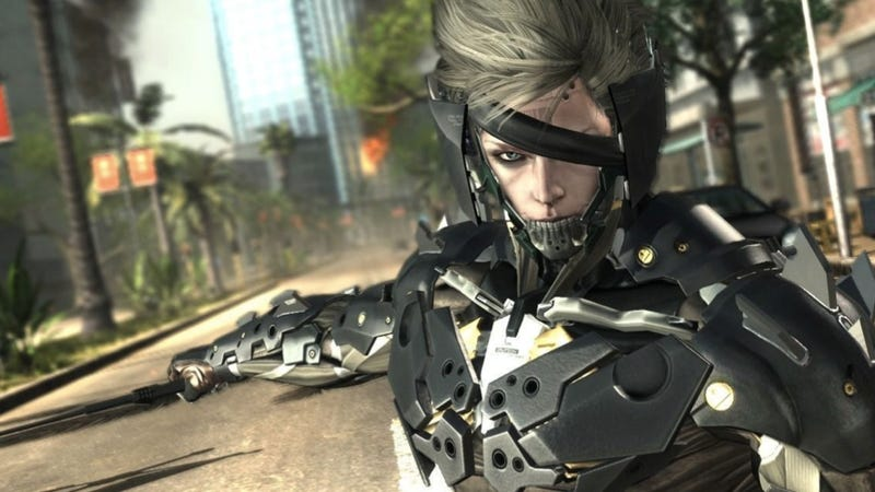 Illustration for article titled Why Metal Gear Rising Features a Fancy New Raiden Outfit