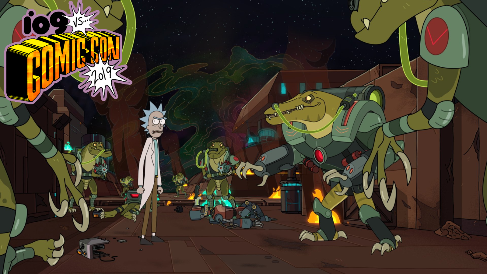 Rick and Morty's Cast and Crew Shared Clips and a Teeny Bit of Season 4 News at Their SDCC Panel