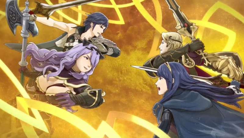 Illustration for article titled Fire Emblem: Heroes Is A Collectible Character Strategy Game For iOS And Android [UPDATE]