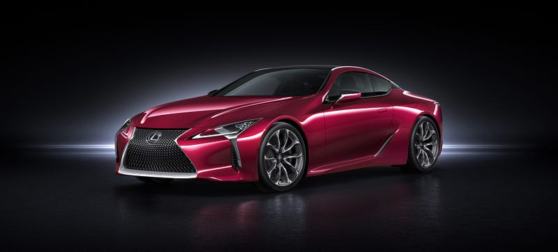 Illustration for article titled Lexus Wasn't Going To Build The LC 500 Production Car, But We Loved It Too Much