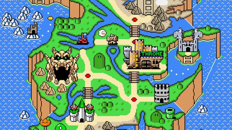 Illustration for article titled Here's What Game of Thrones Would Look Like As A Mario Game