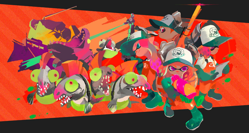Illustration for article titled Splatoon 2 Has Co-Op, Out In July