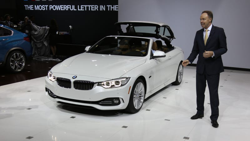 2014 Bmw 4 Series Convertible It S A 4 Series Without A Roof