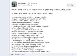 Illustration for article titled Az év magyar nyelvű verse a devizahitelesekről szól