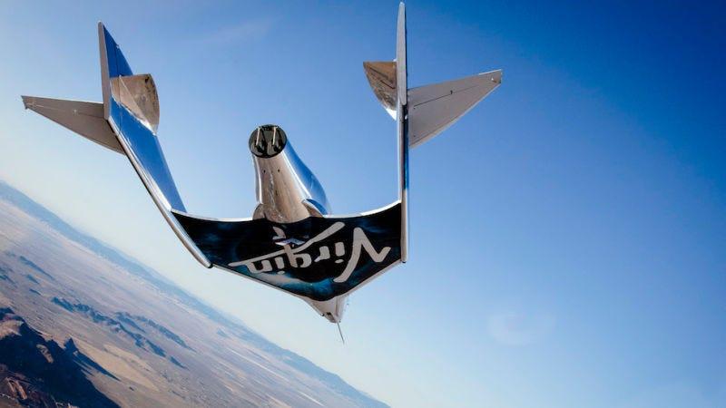 Illustration for article titled Un nuevo paso hacia el turismo espacial: la nave Virgin Galactic alcanza el espacio por primera vez