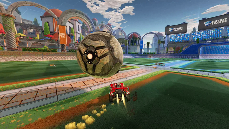 Illustration for article titled 360 Dribble In Rocket League Is A Thing Of Beauty