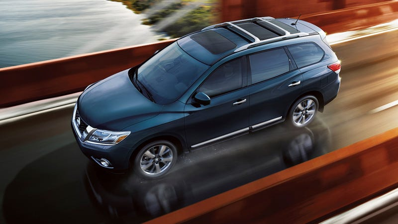 Illustration for article titled 2013 Nissan Pathfinder: First Photos