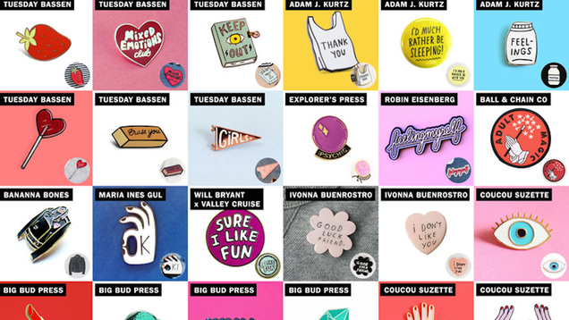 Zara Appears to Have Stolen Over 40 Pin and Patch Designs FromNumerous Indie Artists