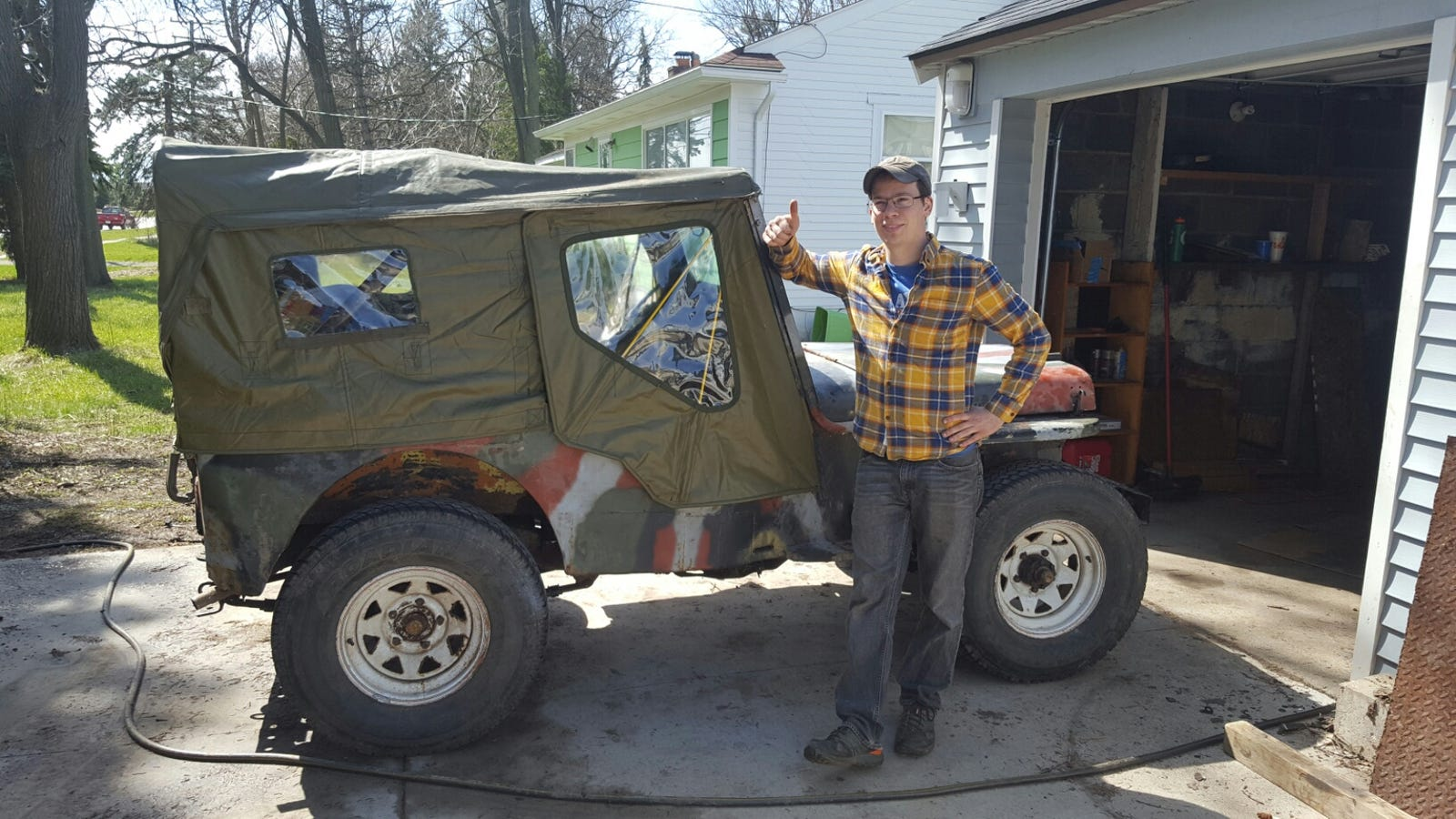 We're Off! My 1948 Farm Jeep Begins The 1,800-Mile Journey to Moab