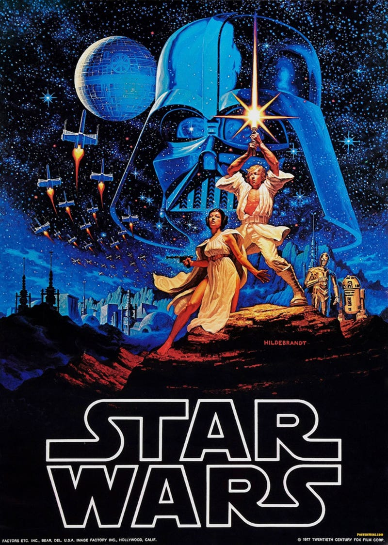 Image result for original star wars poster