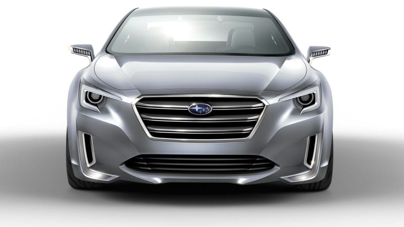 Illustration for article titled 2015 Subaru Legacy Concept To Make World Debut At Lost Angeles Auto Show