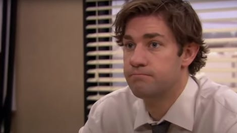Image of: Pinterest John Krasinski Is Down For An Office Reunion Wonders What Jims Been Up To People Howstuffworks Returning Steve Carell Helms Sluggish Saturday Night Live