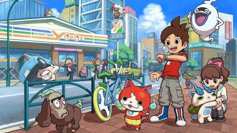 "Illustration for article titled Nintendo seeks another ""gotta catch 'em all"" craze with Yo-kai Watch"