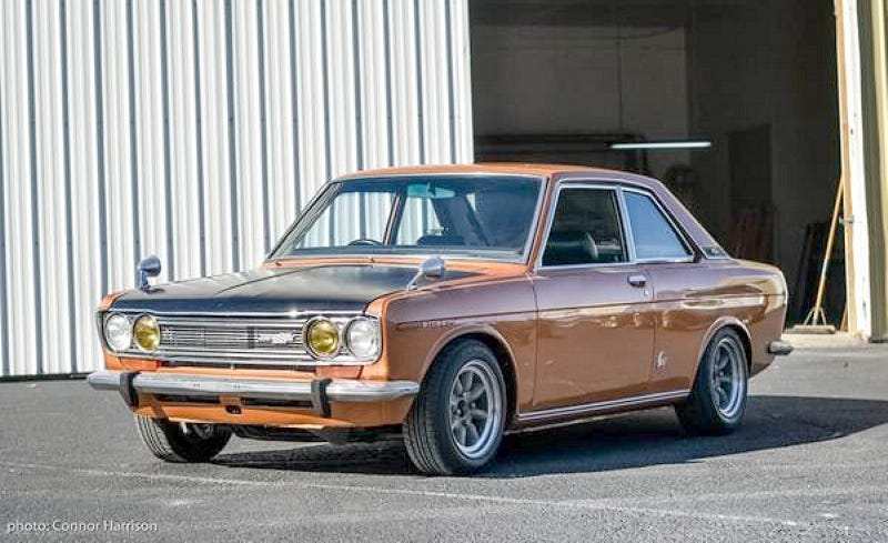 Illustration for article titled Would You Pay $28,000 For This 1971 Nissan Bluebird 1800 SSS Coupe?