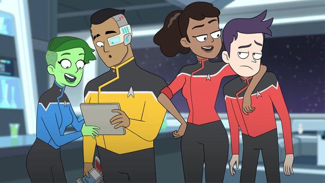 There s a Canonical Star Trek Show Happening During Lower Decks, You Just Aren t Watching It
