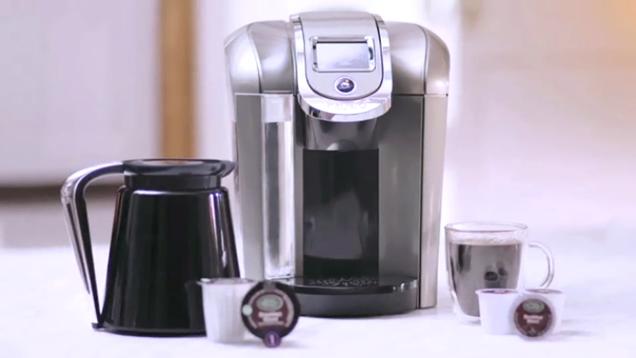 Keurig Coffee Maker Green : Keurig 2.0 Brews the 30oz Serving You Really Want