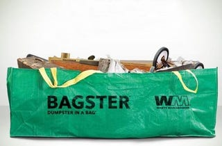 Illustration for article titled Bagster Handles Your Bulky Trash Cheaper and Easier Than a Dumpster