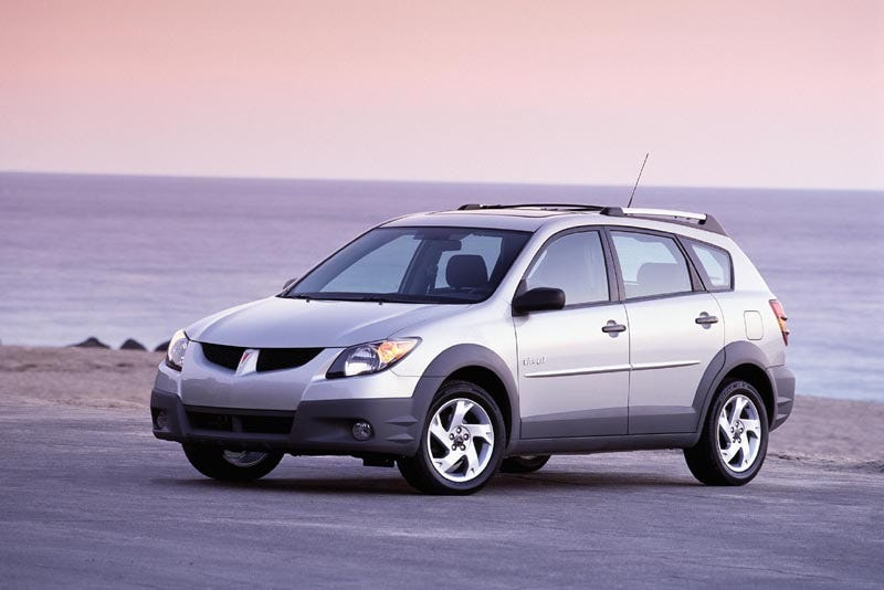Illustration for article titled Pontiac Vibe GT