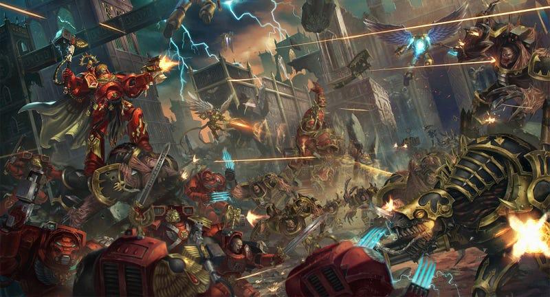 Illustration for article titled Warhammer 40K Battles Are Never Subtle