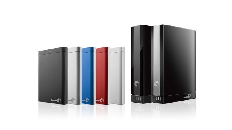 Illustration for article titled Seagate's New Drives Automatically Upload and Download Photos From Facebook and Flickr