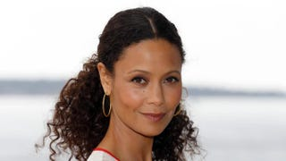 British actress Thandie Newton poses during the photo-call of the TV show Rogue on April 8, 2013, in Cannes, France.VALERY HACHE/AFP/Getty Images
