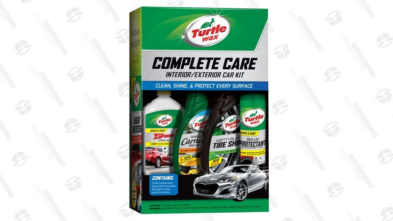 Turtle Wax Complete Care Kit   $10   Walmart