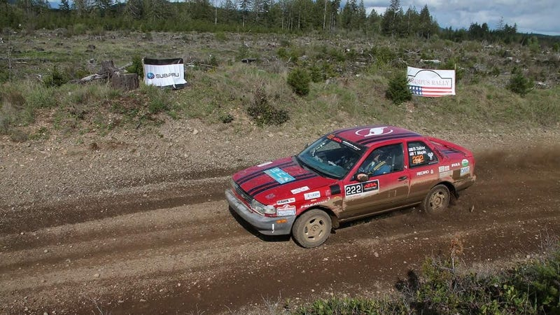 Illustration for article titled Let's Try To Find This Stolen Nissan Sentra SE-R Rally Car