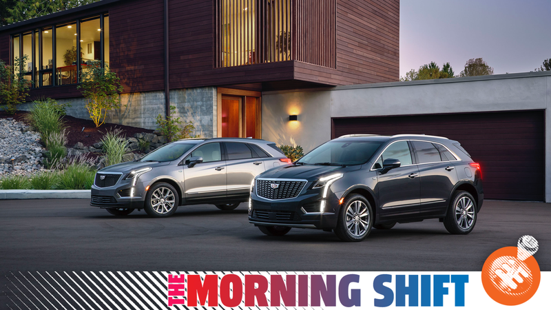 The Cadillac XT5, one of the seven crossovers and SUVs on the top-10 list cited by Bloomberg.