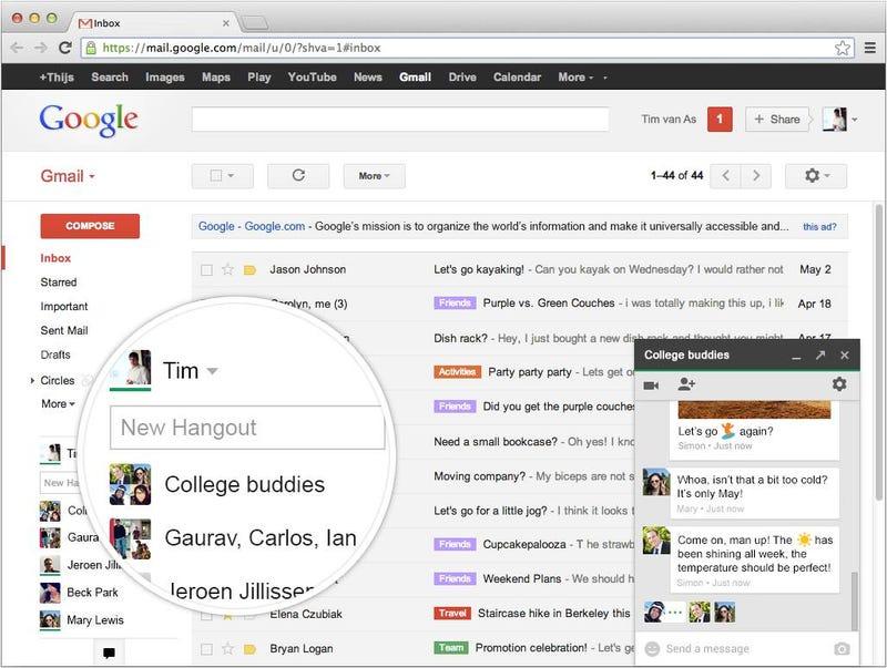Illustration for article titled Un fallo en GTalk y Hangouts envía mensajes a contactos equivocados